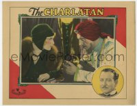 4k218 CHARLATAN LC 1929 Margaret Livingston & fake fortune teller Holmes Herbert w/ crystal ball!