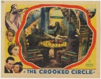 4k224 CROOKED CIRCLE LC 1932 masked cultists taking an oath w/hands on skull, skeleton w/ violin!