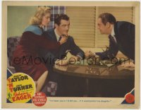 4k262 JOHNNY EAGER LC 1942 sexiest Lana Turner & Robert Taylor confront his dad Edward Arnold!