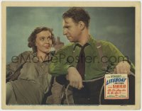 4k267 LIFEBOAT LC 1943 Alfred Hitchcock, c/u of Mary Anderson smiling at Hume Cronyn, Steinbeck!
