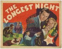 4k168 LONGEST NIGHT TC 1936 department store manager Robert Young silences pretty Florence Rice!