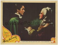 4k275 MARIE ANTOINETTE LC 1938 Tyrone Power came from the ends of the Earth for Norma Shearer!