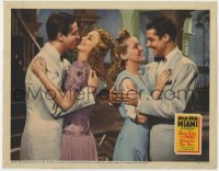 4k277 MOON OVER MIAMI LC 1941 sexy Betty Grable, Don Ameche, Bob Cummings & Carole Landis!