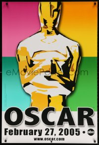 4r505 77th ANNUAL ACADEMY AWARDS 1sh 2005 Brett Davidson artwork of the Oscar!