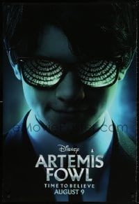4r527 ARTEMIS FOWL teaser DS 1sh 2019 Walt Disney, Kenneth Branagh directed, cool close-up!
