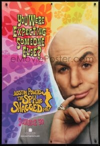 4r532 AUSTIN POWERS: THE SPY WHO SHAGGED ME teaser 1sh 1997 Mike Myers as Dr. Evil!