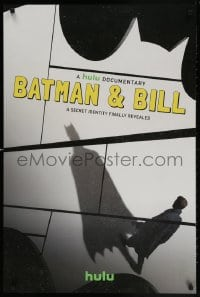 4r058 BATMAN & BILL tv poster 2017 Todd McFarlane, Bob Kane, superhero documentary!