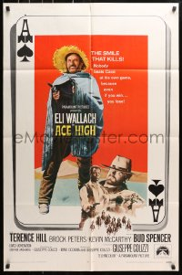 4t023 ACE HIGH int'l 1sh 1969 i Quattro dell'Ave Maria, Eli Wallach, Terence Hill, spaghetti western