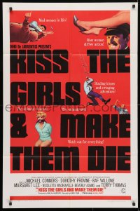 4t487 KISS THE GIRLS & MAKE THEM DIE 1sh 1967 Henry Levin's Se tutte le donne del mondo!