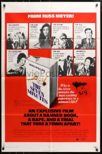 4t761 SEVEN MINUTES 1sh 1971 from the sexmaster Russ Meyer, a trial that tore a town apart!