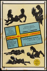 4t765 SEXUAL PRACTICES IN SWEDEN 1sh 1970 graphic guide to sexual positions, normal & abnormal!