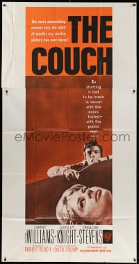 4w052 COUCH 3sh 1962 Owen Crump, Robert Bloch, Grant Williams, Project Icepick!