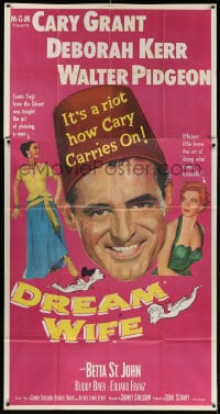 4w065 DREAM WIFE 3sh 1953 does gay bachelor Cary Grant choose sexy Deborah Kerr or Betta St. John!