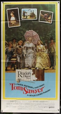 4w239 TOM SAWYER 3sh 1973 Johnny Whitaker & young Jodie Foster in Mark Twain's classic story!