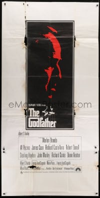 4w011 GODFATHER English 3sh 1972 art of Marlon Brando, Francis Ford Coppola & Mario Puzo classic!