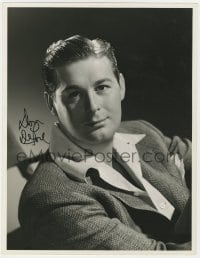 4x051 DON DEFORE signed deluxe 10x13 still 1944 very young portrait from Thirty Seconds Over Tokyo!