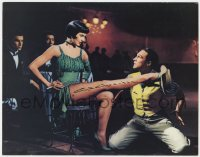 4x057 THAT'S ENTERTAINMENT PART 2 signed color 11x14 still 1975 by Cyd Charisse, Singin' in the Rain!
