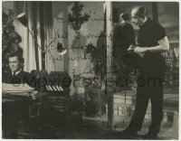 4x058 TONY CURTIS signed deluxe 11x14 still 1964 given to Vincente Minnelli after Goodbye Charlie!