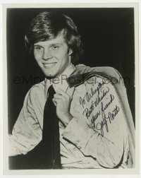 4x813 JAY NORTH signed 8x10 REPRO still 1970s older but still recognizeable as Dennis the Menace!