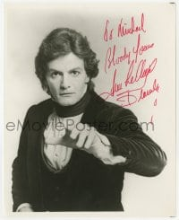 4x815 JEAN LECLERC signed 8x10 REPRO still 1970s great portrait of the All My Children actor!