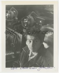 4x820 JOHN HURT signed 8x10 REPRO still 1980s great seated close up of the Hollywood star!