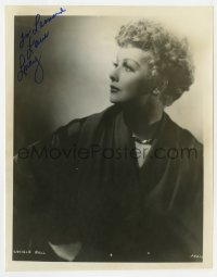 4x835 LUCILLE BALL signed 8x10.25 REPRO 1970s great profile portrait of the legendary comedienne!