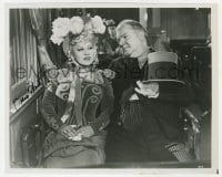 4x836 MAE WEST signed 8x10 REPRO still 1970s great c/u with W.C. Fields in My Little Chickadee!
