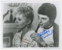 4x841 MAX DUGAN RETURNS signed 8x9.75 REPRO still 1980s by BOTH Marsha Mason AND Matthew Broderick!