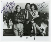 4x842 MEMORIES OF ME signed 8x9.75 REPRO still 1980s by Billy Crystal, Alan King AND JoBeth Williams!