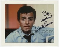 4x844 MIKE CONNORS signed 8x10 REPRO still 1990s great portrait of the star of TV's Mannix!