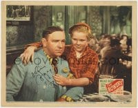 4x030 BOWERY signed LC #7 R1946 by Jackie Cooper, who's with in restaurant with Wallace Beery!
