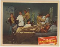 4x041 MR MUGGS RIDES AGAIN signed LC 1945 by William Benedict, who's with The East Side Kids!