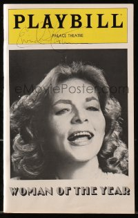 4x074 EIVIND HARUM signed playbill 1981 in Woman of the Year with Lauren Bacall on Broadway!