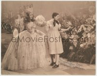 4x075 MARGARET PELLIGRINI signed 11x14 postcard 2000s she was a Munchkin in The Wizard of Oz!