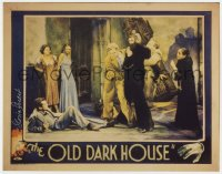 4x078 GLORIA STUART signed 11x14 REPRO 1980s lobby card image with Boris Karloff in Old Dark House!