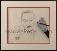 4x005 GREG SHELTON signed #230/950 10x12 art print in 14x16 matted display 1987 art of Walt Disney!