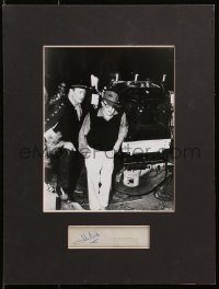 4x006 JOHN FORD signed 1x5 cut album page in 12x16 display 1930s ready to hang on your wall!