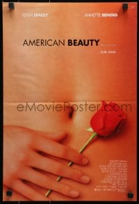 4z071 AMERICAN BEAUTY DS Aust mini poster 1999 Sam Mendes Academy Award winner, sexy close up image!