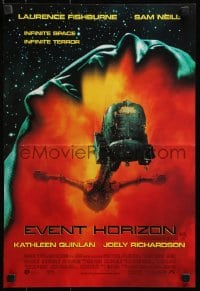 4z073 EVENT HORIZON DS Aust mini poster 1997 ship in decaying orbit around the planet Neptune!