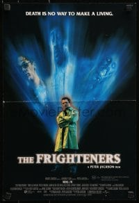 4z074 FRIGHTENERS DS Aust mini poster 1997 directed by Peter Jackson, really cool horror image!