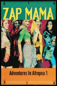 4z024 ZAP MAMA 24x36 music poster 1993 Afro-Pop, Daulne, Adventures in Afropea 1!