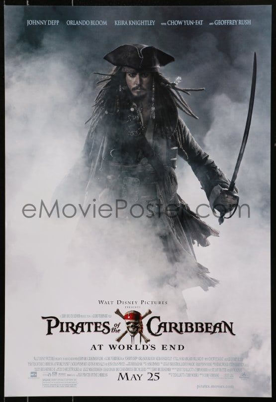 eMoviePoster com: 4z415 PIRATES OF THE CARIBBEAN: AT WORLD'S