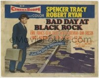 5b007 BAD DAY AT BLACK ROCK TC 1955 Spencer Tracy tries to find out just what happened to Komoko!