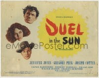5b041 DUEL IN THE SUN TC 1947 Jennifer Jones, Gregory Peck & Joseph Cotten in King Vidor epic!