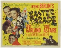 5b042 EASTER PARADE TC 1948 Judy Garland, Fred Astaire, Irving Berlin, Al Hirschfeld art!