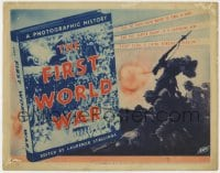5b049 FIRST WORLD WAR TC 1934 it tells the WWI truth waited 20 years to hear, ultra rare!