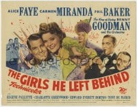 5b056 GANG'S ALL HERE TC 1943 Carmen Miranda, Alice Faye, Phil Baker, The Girls He Left Behind!