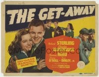 5b057 GET-AWAY TC 1941 Robert Sterling, first Donna Reed prominently pictured twice!