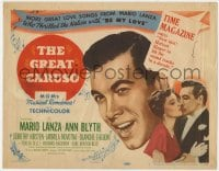 5b060 GREAT CARUSO TC 1951 opera star Mario Lanza & pretty Ann Blyth sing great love songs!
