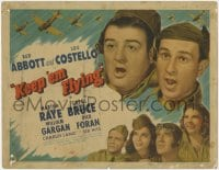 5b069 KEEP 'EM FLYING TC 1941 Bud Abbott & Lou Costello in the United States Air Force, Martha Raye